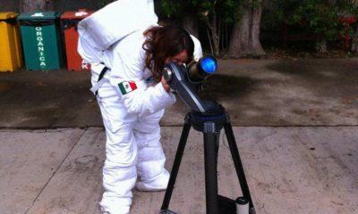 Oriana Trejo Álvarez joven astrónoma mexicana