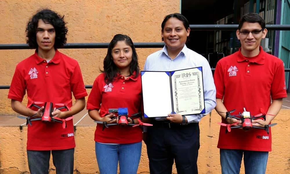 QuetzalC++, Equipo Mexicano se Corona Campeón en Carrera de Drones Autónomos