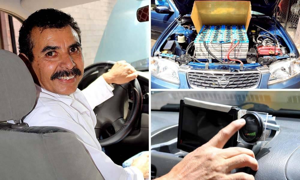 Profesor Mexicano del IPN Logra Transformar Auto de Gasolina a Eléctrico